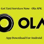 ola cabs app or apk