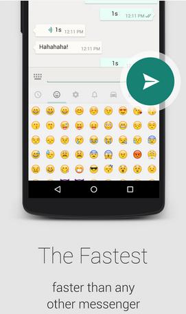 emoticons usage on this app