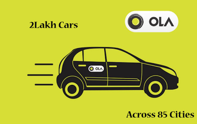 ola android cab service