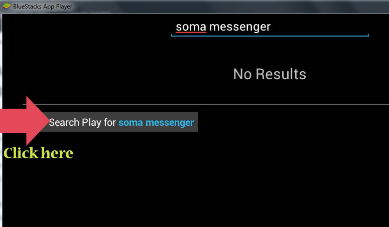 searching for soma messenger on pc