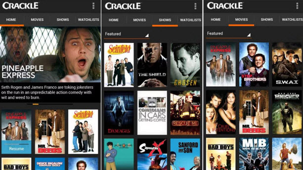 Crackle Movies/TV Shows Free, Download Crackle App