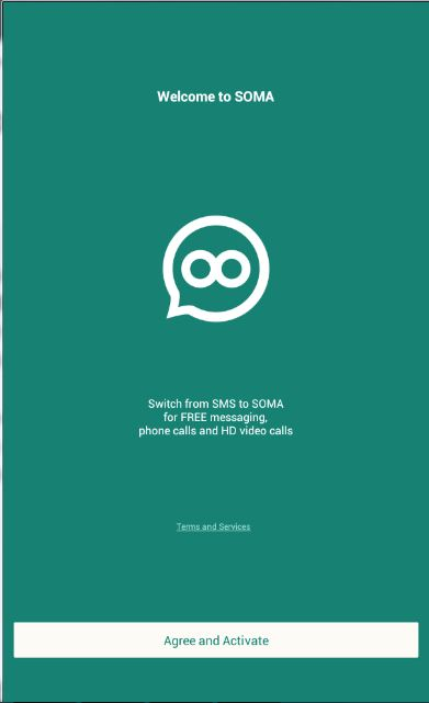 welcome message from soma