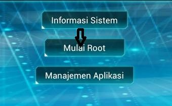 click on mulai root